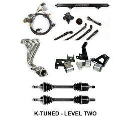 Kswap Turn Key Package Header Mounts Axles Wiring Ecu Shifter Hoses on honda integra si
