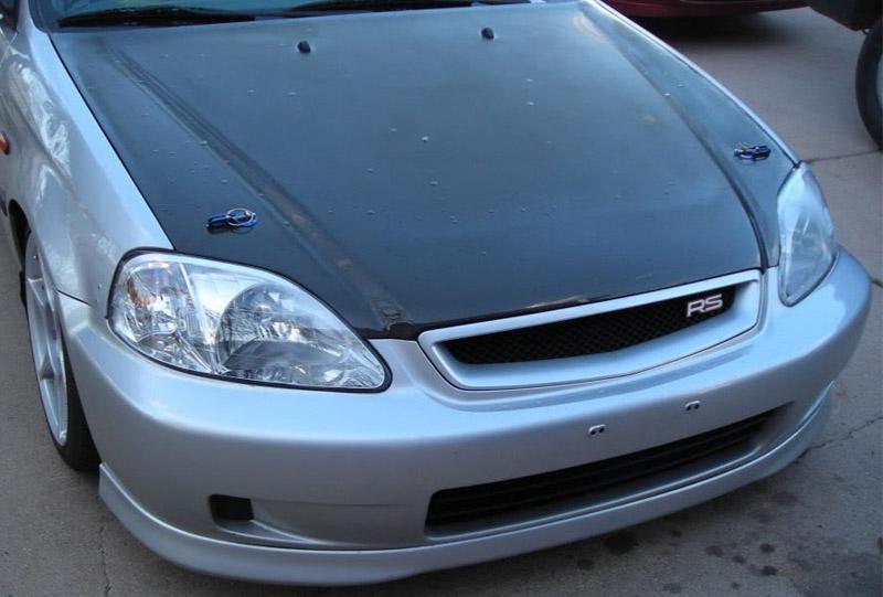 Vti Oem Style Front Lip Honda Civic Ek 99 00 Jdmaster