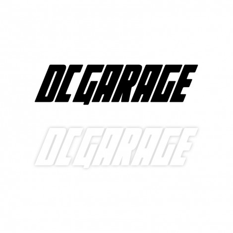 DC GARAGE OFFICIAL STICKER DECAL 50CM