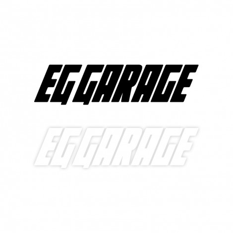 EG GARAGE OFFICIAL STICKER DECAL 50CM