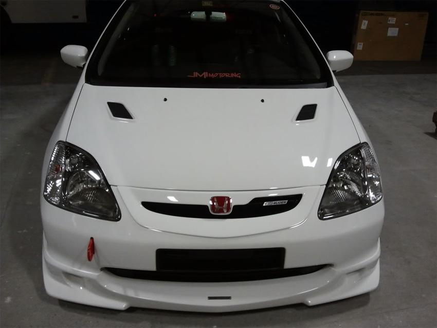 Mugen style front lip Honda Civic EP 01-03 - JDMaster