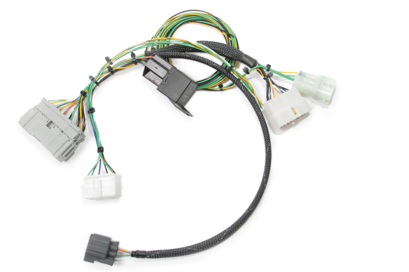 88 91 honda civic engine wiring harness k-tuned ef (88-91) civic / crx k-swap conversion harness ...