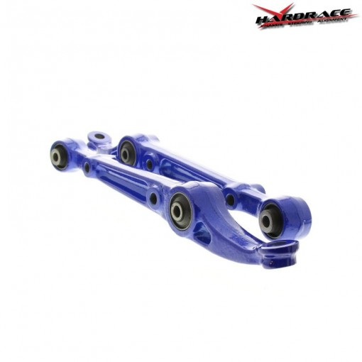 Honda Prelude 1998 Front Strut Arm Bushings: HARDRACE FRONT LOWER CONTROL ARMS BLUE HONDA CIVIC 91-96