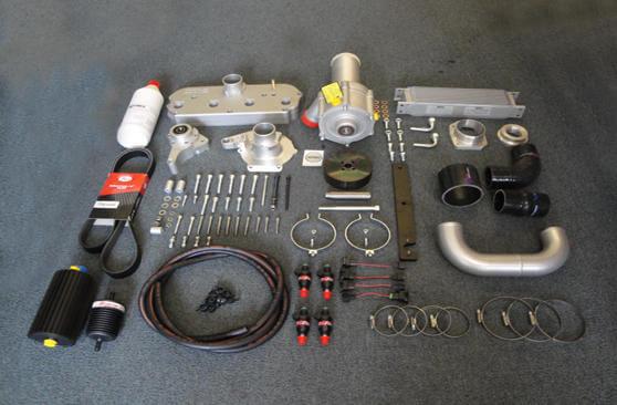 TTS Racing - Rotrex supercharger kit Honda Civic EP3 Kseries - SPORT PACK