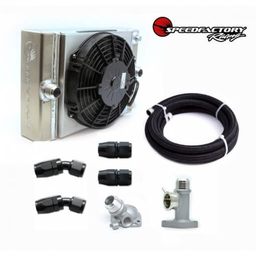 SpeedFactory Race Radiator Combo Kit Honda Acura Civic Integra B16 B18 K20 K24