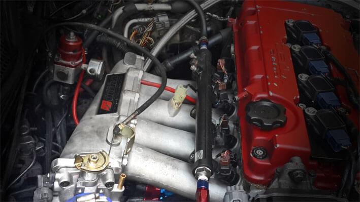 Skunk Uttra on Acura Rsx Engine Swap