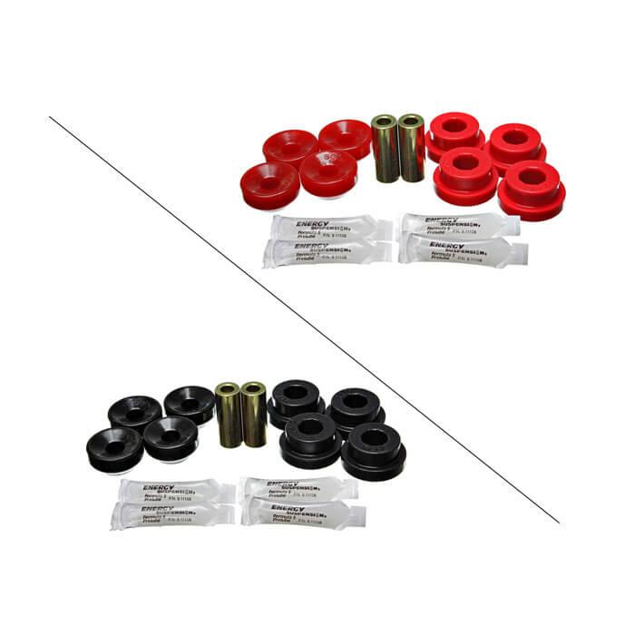 Red Honda Civic EG Integra DC2 DEL SOL Front Upper /& Rear Camber Bushing Kit