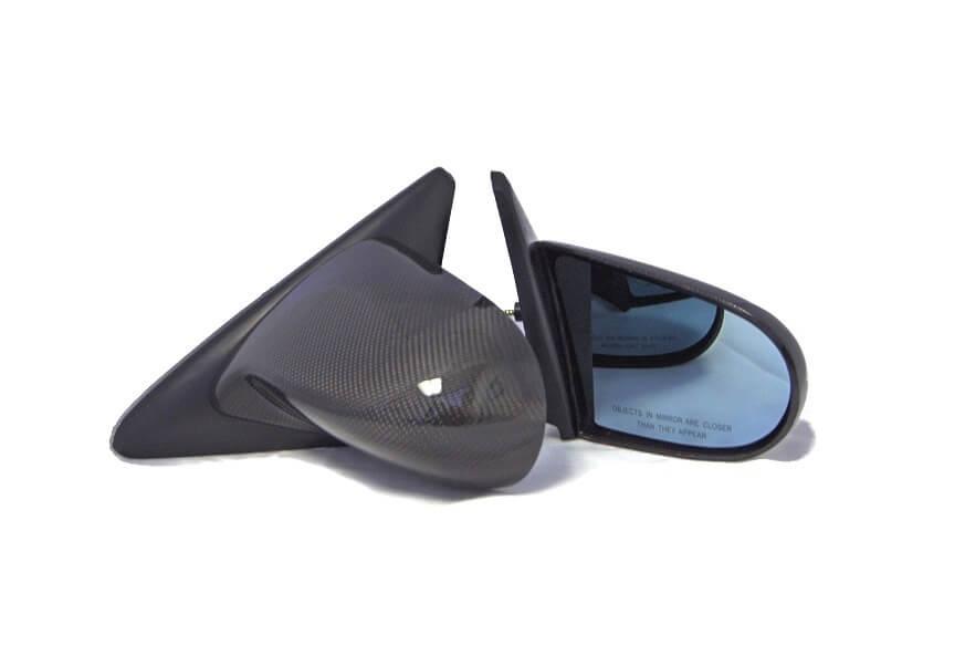 Aerodynamics Spoon Side Mirrors Carbon Honda Civic 91-96 2 3dr