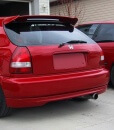 civic 99 00 facelift rear bumper spoiler lip taillights jdm ek4 ek9 2