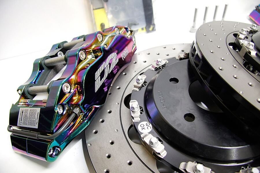 D2 RACING SPORTS BIG BRAKE KIT (FRONT) 330x32mm / 8 POT - HONDA - JDMaster