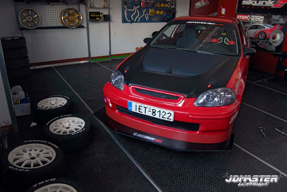 Track Spec Civic Ek Moving Fast Forward Jdmaster
