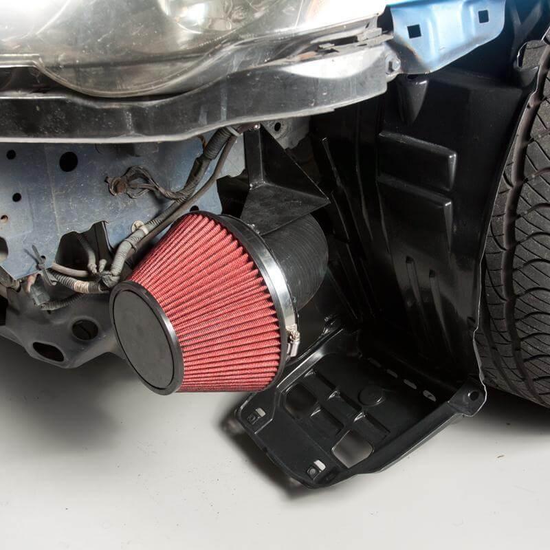 "K-Tuned 3/"" Ram Air Intake w// Velocity Stack Integra DC2 Civic EG EK w// K20 K24"