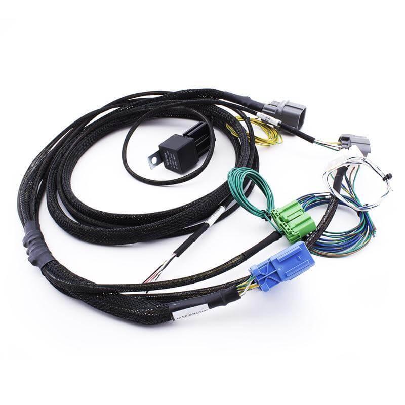hybrid racing k-series swap conversion wiring harness (96 ... custom honda civic wiring harness civic wiring harness