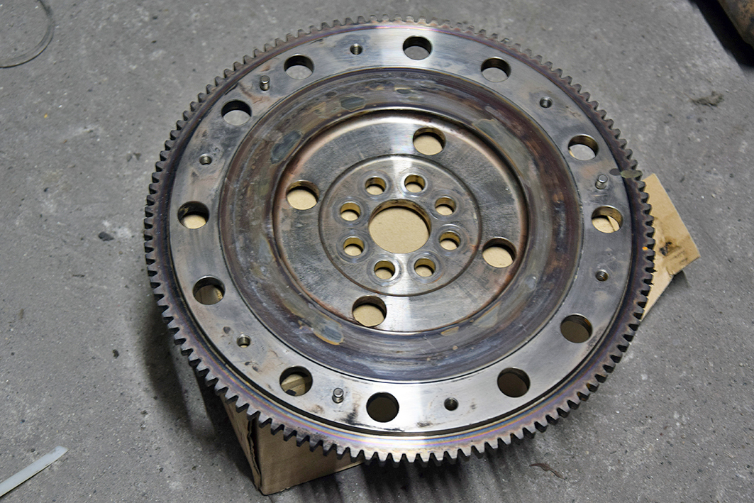 Used _ EP3 lightweight flywheel