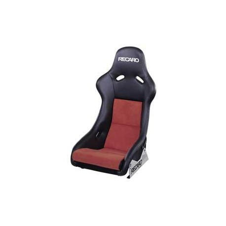 recaro pole position vinyl black / dynamic red abe