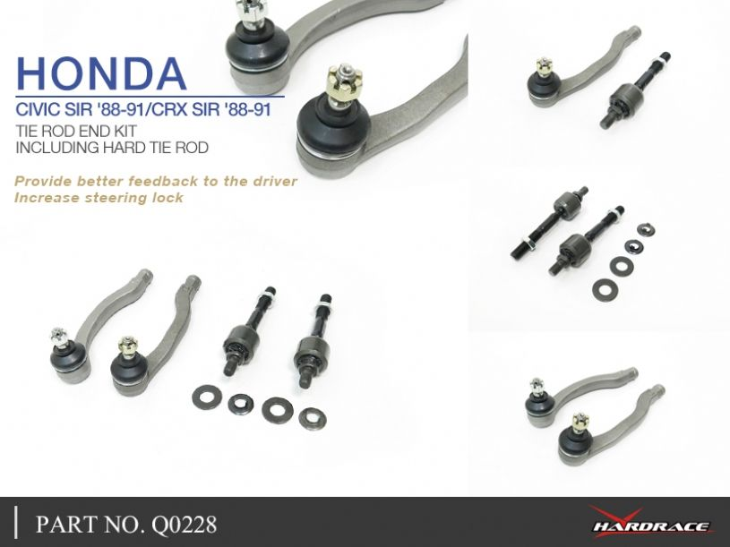 Front Lower Control Arm Ball Joint /& Tie Rod Kit for 2013 2014 2015 Honda Civic