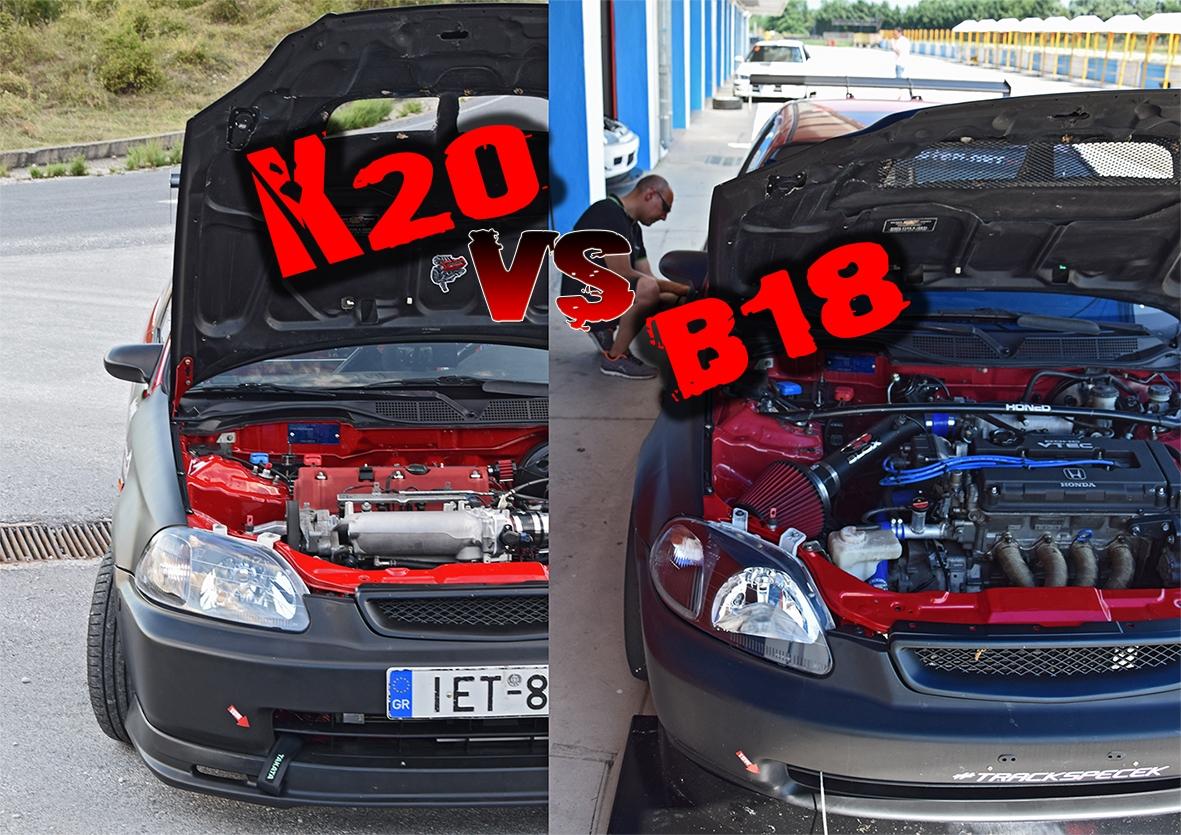 Track Spec Civic Ek The Changeover To K20 Yo Jdmaster